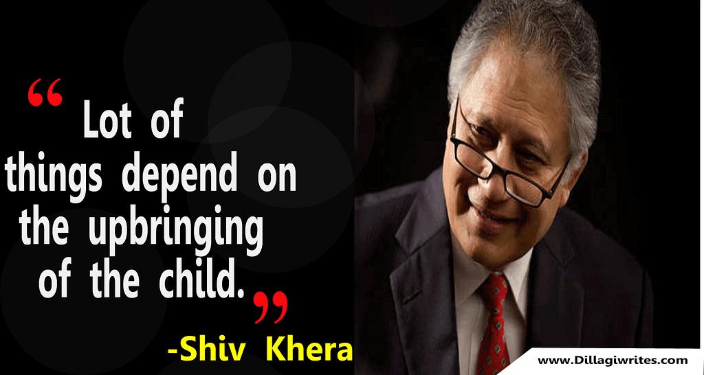 shiv khera winners do things differently