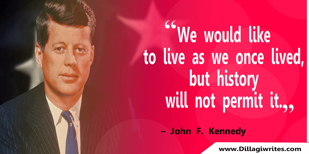 john f kennedy navy quote