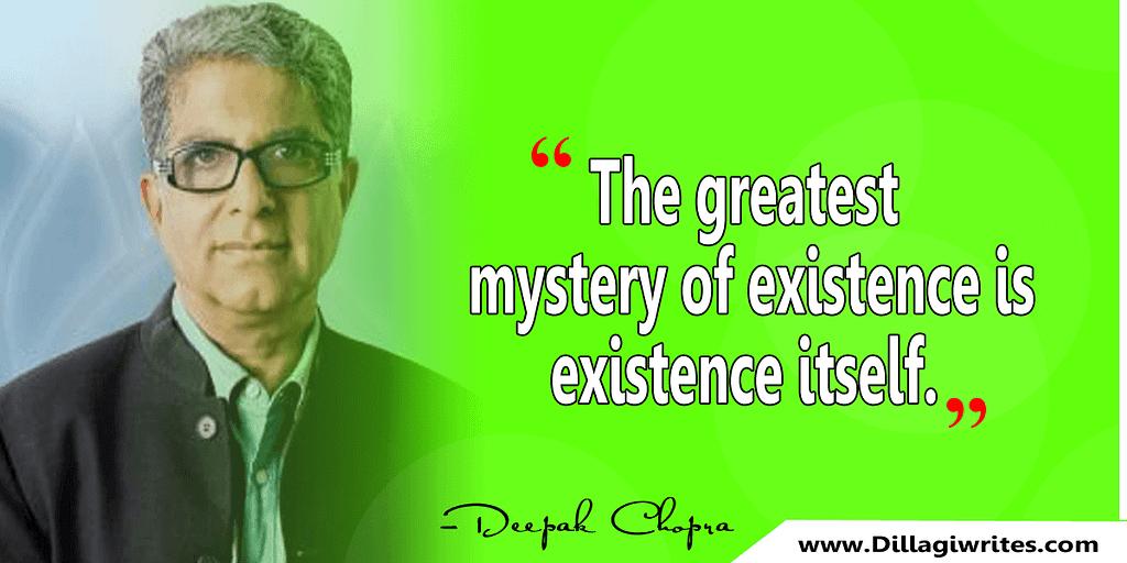 deepak chopra karma quotes