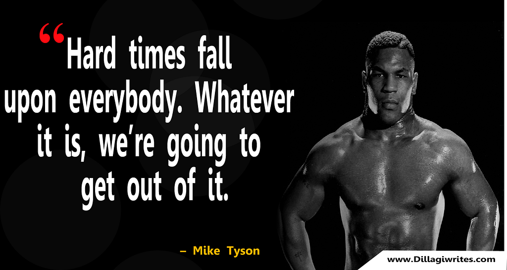 mike tyson quote on social media