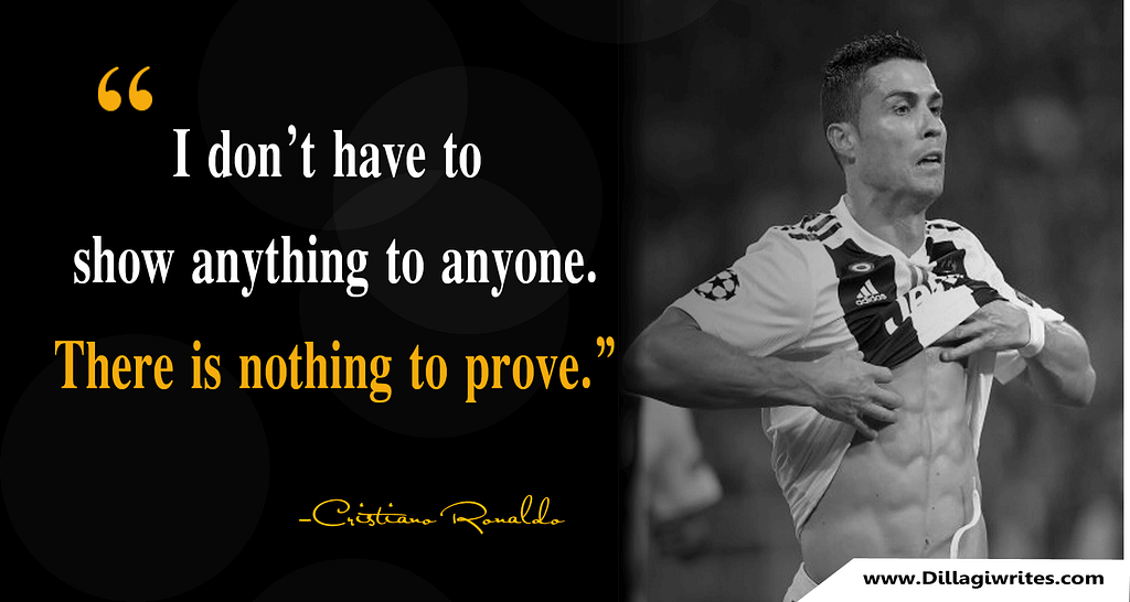 ronaldo quotes about messi
