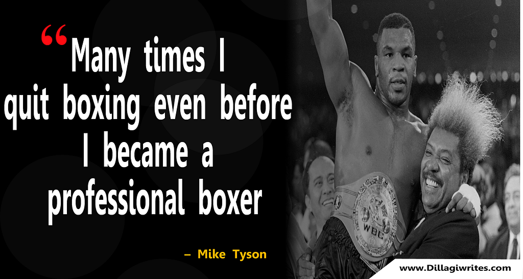 mike tyson it's all love