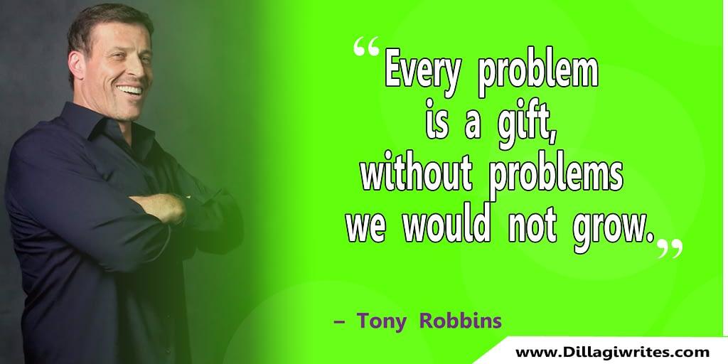 tony robbins fear quotes