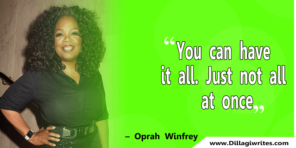 why does oprah winfrey inspire you