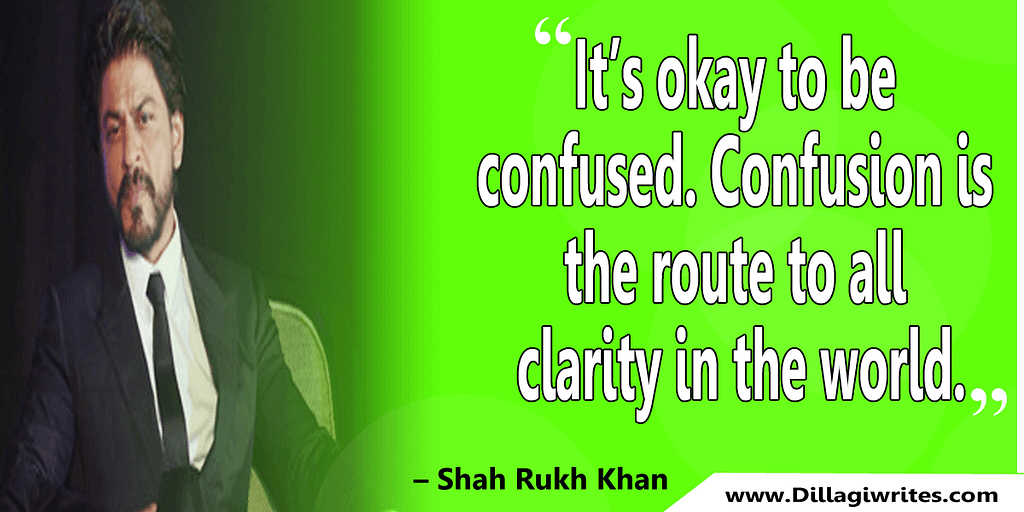 shahrukh khan quotes 25 Shahrukh Khan Quotes and Dialogues  King Khan
