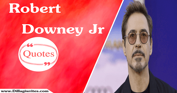 robert downey jr. Quotes