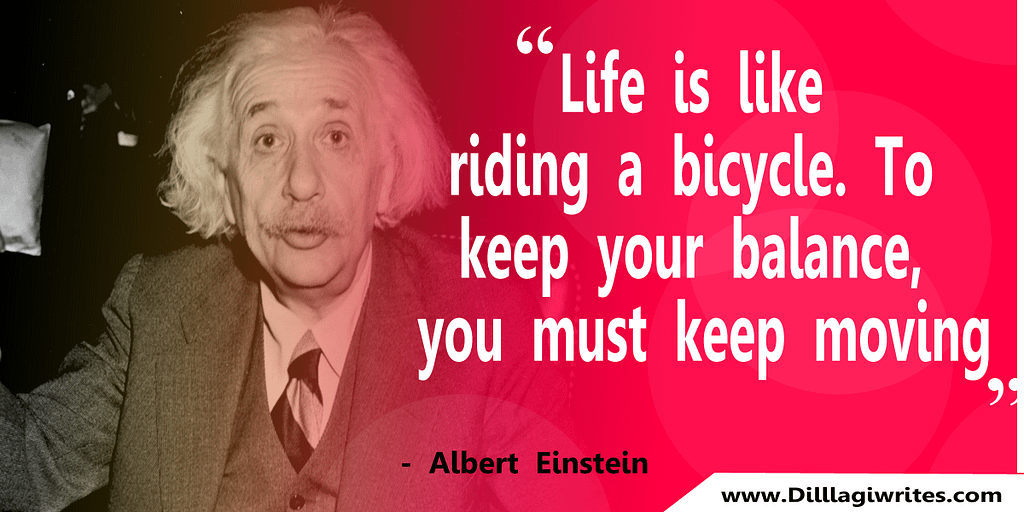 einstein quotes about time