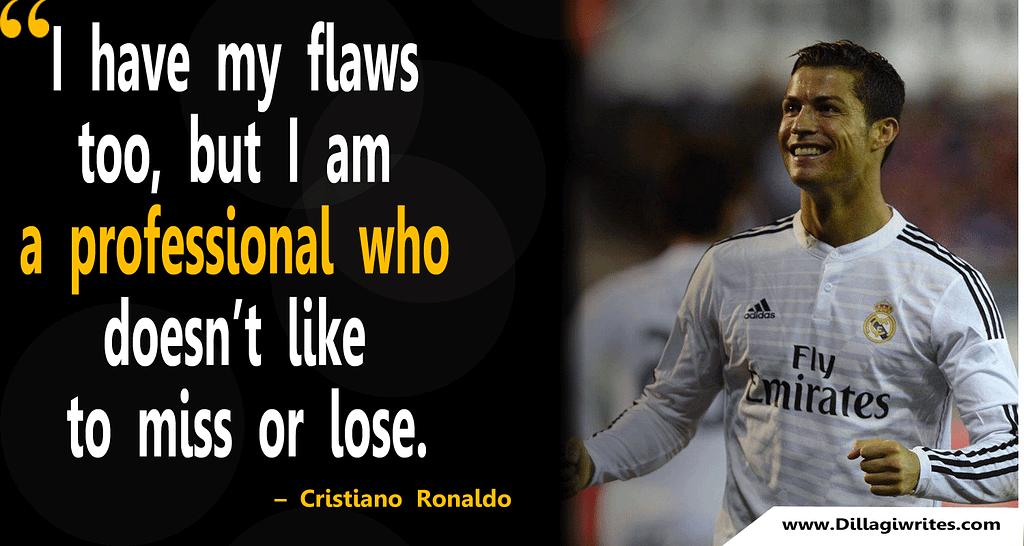 c ronaldo quotes