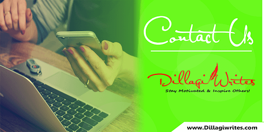 Contact Us Dillagi Writes