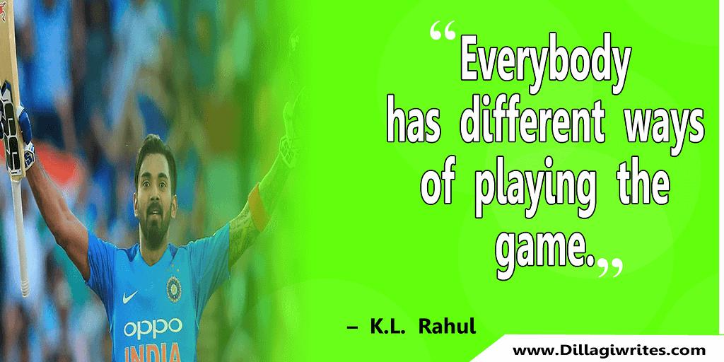 k l rahul birthday quotes