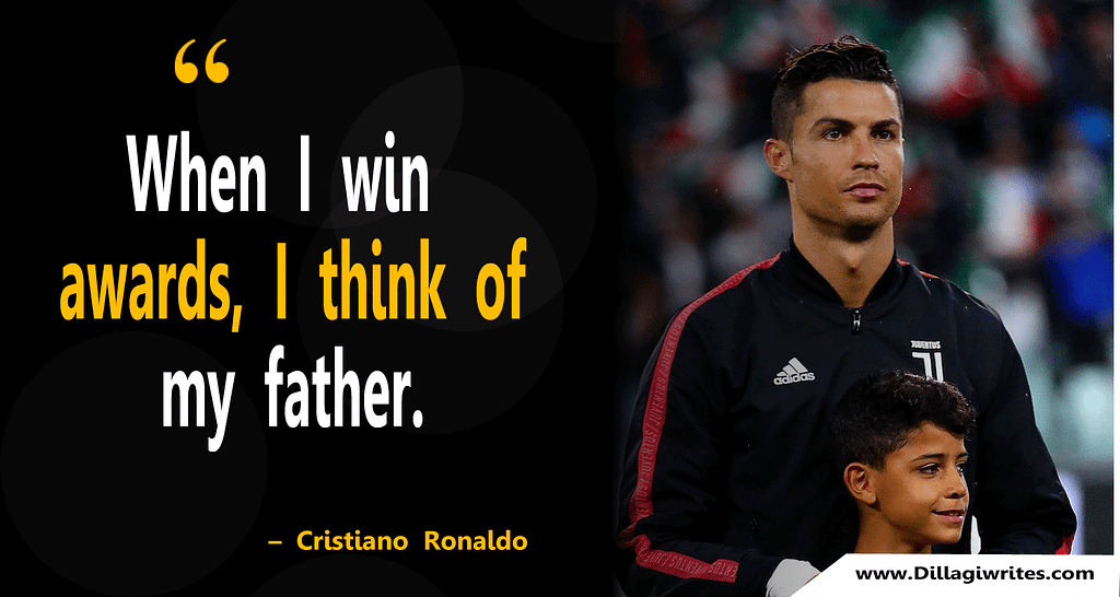 ronaldo quotes about life