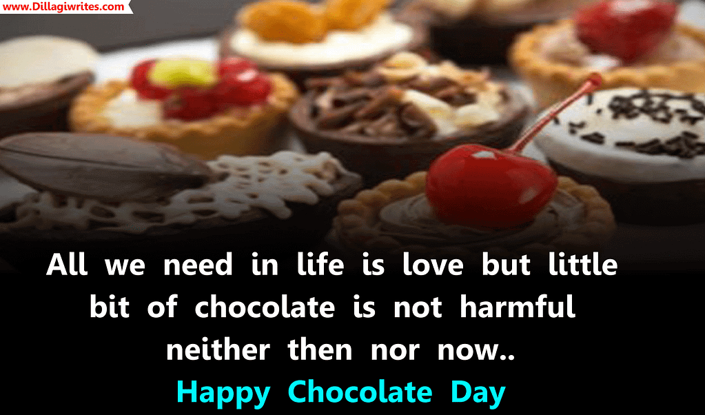 chocolate day hashtags