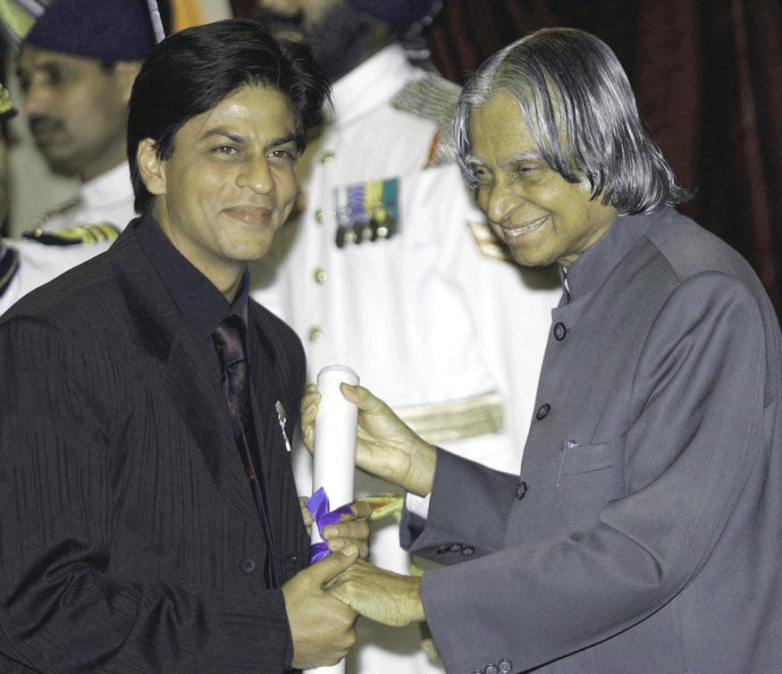 APJ Abdul Kalam Shah Rukh K Shahrukh Khan Quotes and Dialogues  King Khan