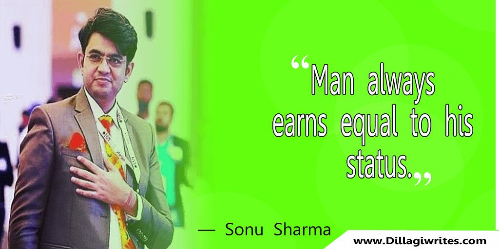 sonu sharma thoughts in english