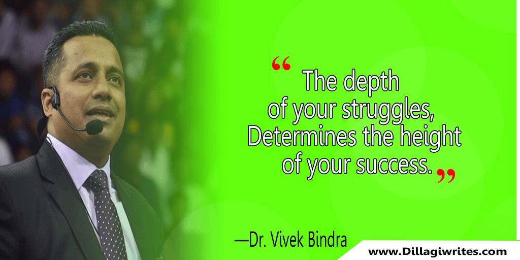 Dr. Vivek Bindra Quotes 27 Vivek Bindra Quotes That Will inspire You