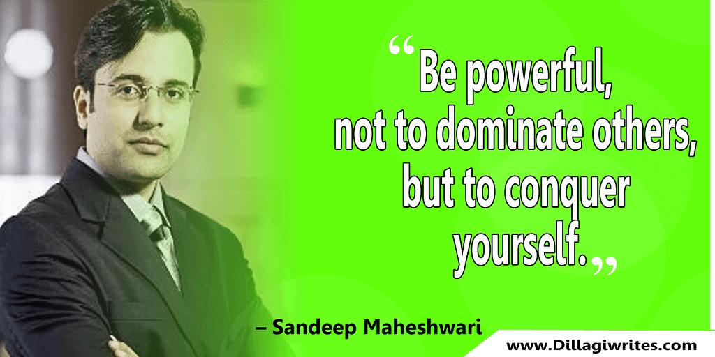 sandeep 8 1 Sandeep Maheshwari Quotes|That Will Motivate You
