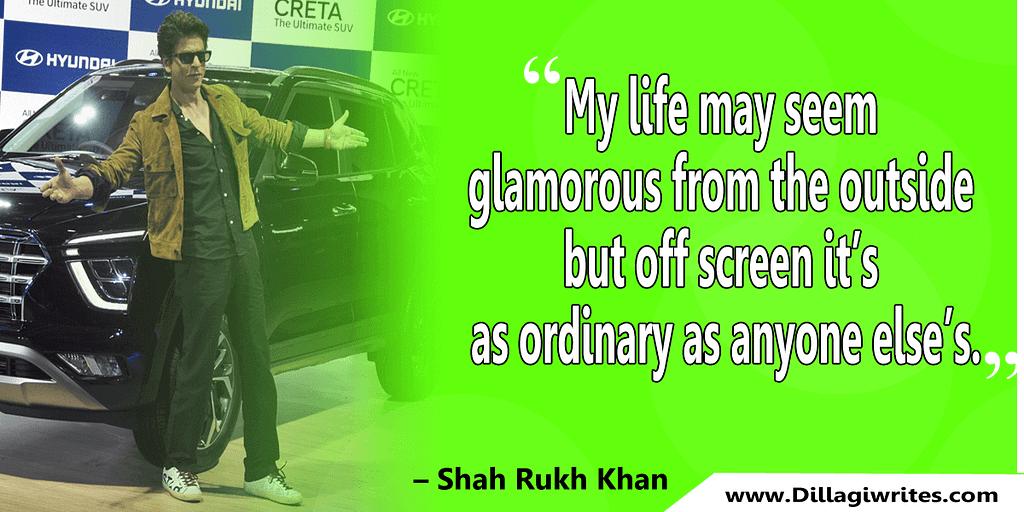 shahrukh khan quotes 23 Shahrukh Khan Quotes and Dialogues  King Khan