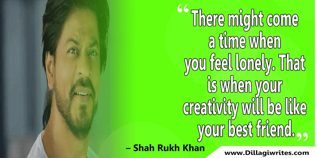 shahrukh khan quotes 24 Shahrukh Khan Quotes and Dialogues  King Khan
