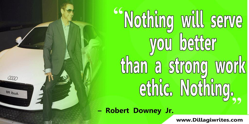robert downey jr sayings