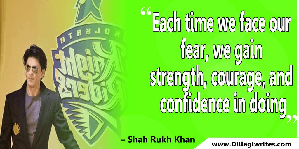 shahrukh khan quotes 37 Shahrukh Khan Quotes and Dialogues  King Khan