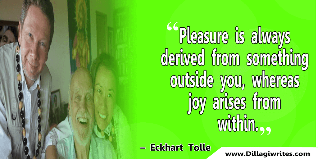 eckhart tolle quotes on success