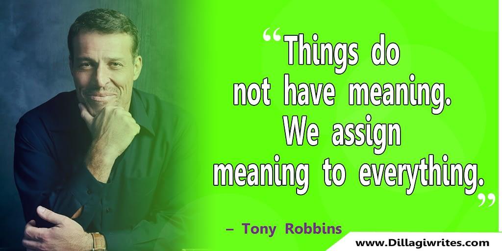 tony robbins massive action quote