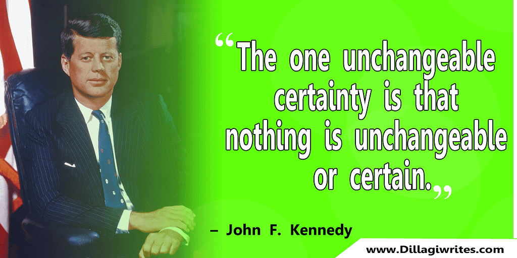 john f kennedy quotes greatness