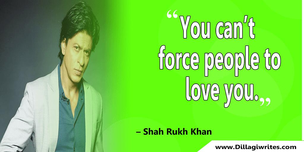 shahrukh khan quotes 19 Shahrukh Khan Quotes and Dialogues  King Khan