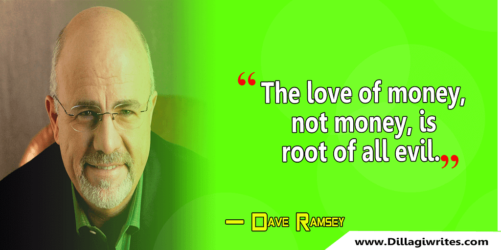 dave ramsey saying live like no one else